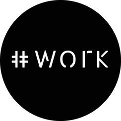 Ontwerp logo voor hashtagwork.nl