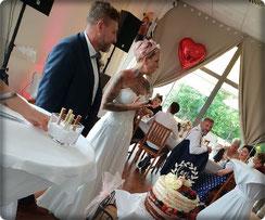© Brot und Spiele Wir richten Ihre Hochzeit aus