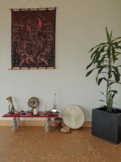 Estúdio de Corpo e Alma, Ganesha, Altar, Shiva, Shakti, Deusa, fada, espiritualidade