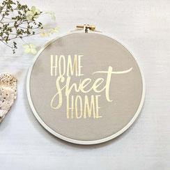 """Spruchrahmen """"Home Sweet Home"""""""