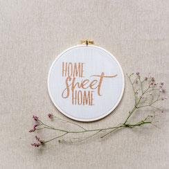 """Spruchrahmen """"sweet Home"""""""