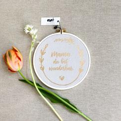 Geschenk zum Muttertag-Stickrahmen-anitextildesign-Anika-Liedtke-Berlin