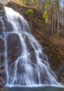 Wasserfall, Giessbachfälle, Geburtstagskarte Männer, Männer, Karten für Männer, Geburtstagskarte für Männer, Glückwunschkarte für Männer, Fotokarte, Naturbilder,