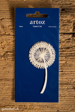 Laser Cut von Artoz Pustblume, Artoz, Laser Cut, Herzen, Shop, bestellen, Schweiz