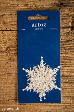 Laser cut von Artoz Eiskristall Eisblume, Artoz, Laser Cut, Herzen, Shop, bestellen, Schweiz