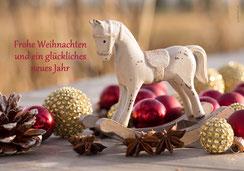 Weihnachtskarte mit Pferd, Weihnachtskarte für Pferdefans,  Neujahrskarten, Karten zu Weihnachten, Fotokarten zu Weihnachten, Weihnachtskarten, Weihnachtskarten Schweiz, Weihnachtskarten Shop