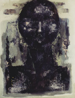 Green life   41×31.8cm   Oil on canvas   1996