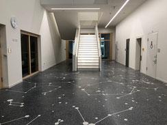 Terrazzoboden in München - Kunst am Bau - Bodenfläche