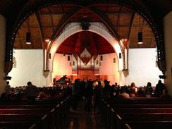 Heute nicht auf der Bühne, sondern im Publikum der Assembly Hall der American University of Beirut (AUB).
