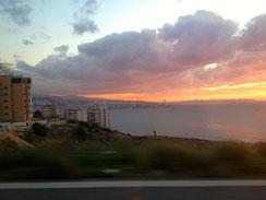 Blick auf Beirut.