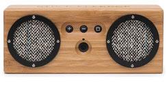Bluetooth Bongo Lautsprecher gerade schwarz