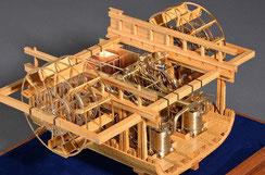 41-17 Side Lever Steam Engine | Shiro kato
