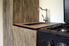Küche die die Schreinerei und Montageservice Michels für einen Kunden in Viersen gefertigt hat