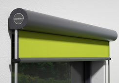 Markilux Markise Fenstermarkise 850 Vertikalmarkise Stangenführung