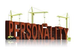 Bild zu Persönlichkeitsentwicklung im Fachkräftetraining, Kräne montieren die Buchstaben Personality