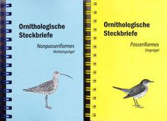 Ornithologische Steckbriefe