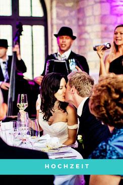 Hochzeiten, Hochzeitsfeiern
