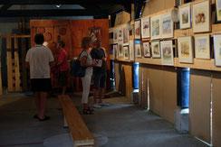 Exposition Aquarelles Sainte Marie de Campan