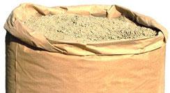 Hanf-Kalk-Mörtel HK070, Dämmung, Hanffaser für Strohballenhäuser