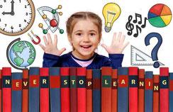 fillette apprendre livres