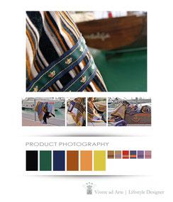 Product Photography | Vivere ad Arte | Progettare Brand | Loghi | Marchi