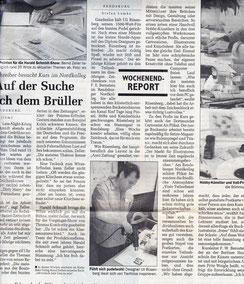 1991 - Die Regionalpresse berichtet - Klicken zum Pudel