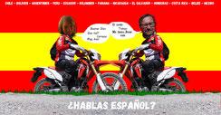 Blog 5 - Spanisch lernen und Motorrad Abenteuer fertig machen