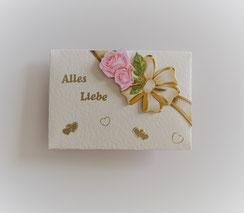 """Kuvert """"Alles Liebe"""""""