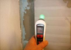 Temperaturunmessung Klimaplatte und Wand