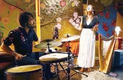 Compagnie d'Azur Alicia Ducout Conte Harpe celtique