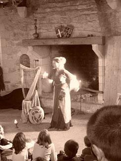 Conte médiéval Irlande Alicia Ducout Harpe celtique