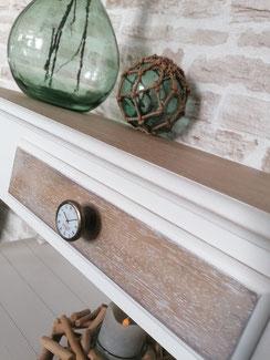 relooking de meuble le mans sarthe console relooke bois blanc le perche