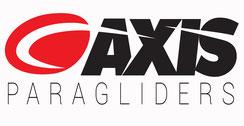 Gamme de parapente Axis. Importateur France