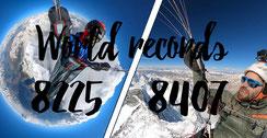 Deux records du monde d'altitude en quelques jours