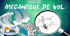 Mécanique de vol pour le parapente