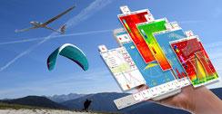 Une application météo utile aux pilotes de vol libre
