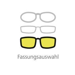 Fassungsauswahl mit vielen tollen Brillenfassungen