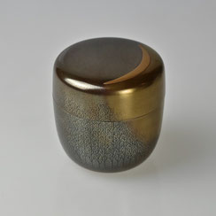 Mitsuji Setsuri | Tea Caddy with Moon