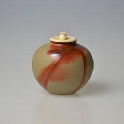 Kimura Tôhô (*1923) | Bizen Tea Caddy