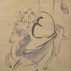 Sengai Gibon (1750-1837) | Lucky God Jurōjin
