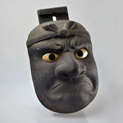Edo-period, large Beshimi Hanging Mask