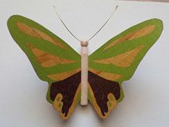 Papillon en marqueterie - Atelier Eclats de Bois - 38 Isère