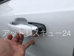 ボルボXC90鍵穴開錠