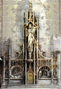 Maître-autel de la chapelle de la Vierge