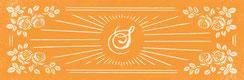 Cette image représente le visuel rétro du logo des sabots d'isa