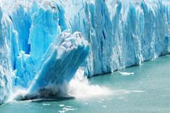 Climate change--iceberg calving