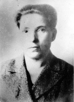 Мать, Суровецкая (Дьяченко) Елена Николаевна в 50-е годы