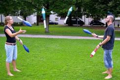 Jonglageworkshops im Jugendzentrum Kempten
