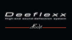 Deeflexx Logo, High-end sound-deflection system by HooVi