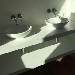 dachgeschossausbau meerbusch büderich einfamilienhaus waschtisch aufgesetztes waschbecken